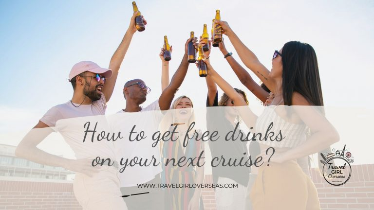 How to get free drinks on your next cruise?