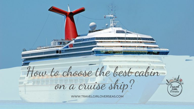 How to choose the best cabin on a cruise ship
